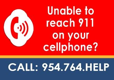 911 cellphone service interruption