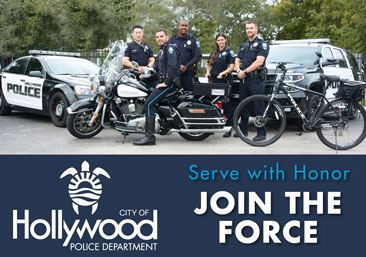Join the Hollywood Police Department