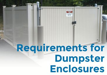 New Dumpster Requirements