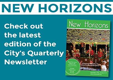 A Quarterly Newsletter for City of Hollywood Residents