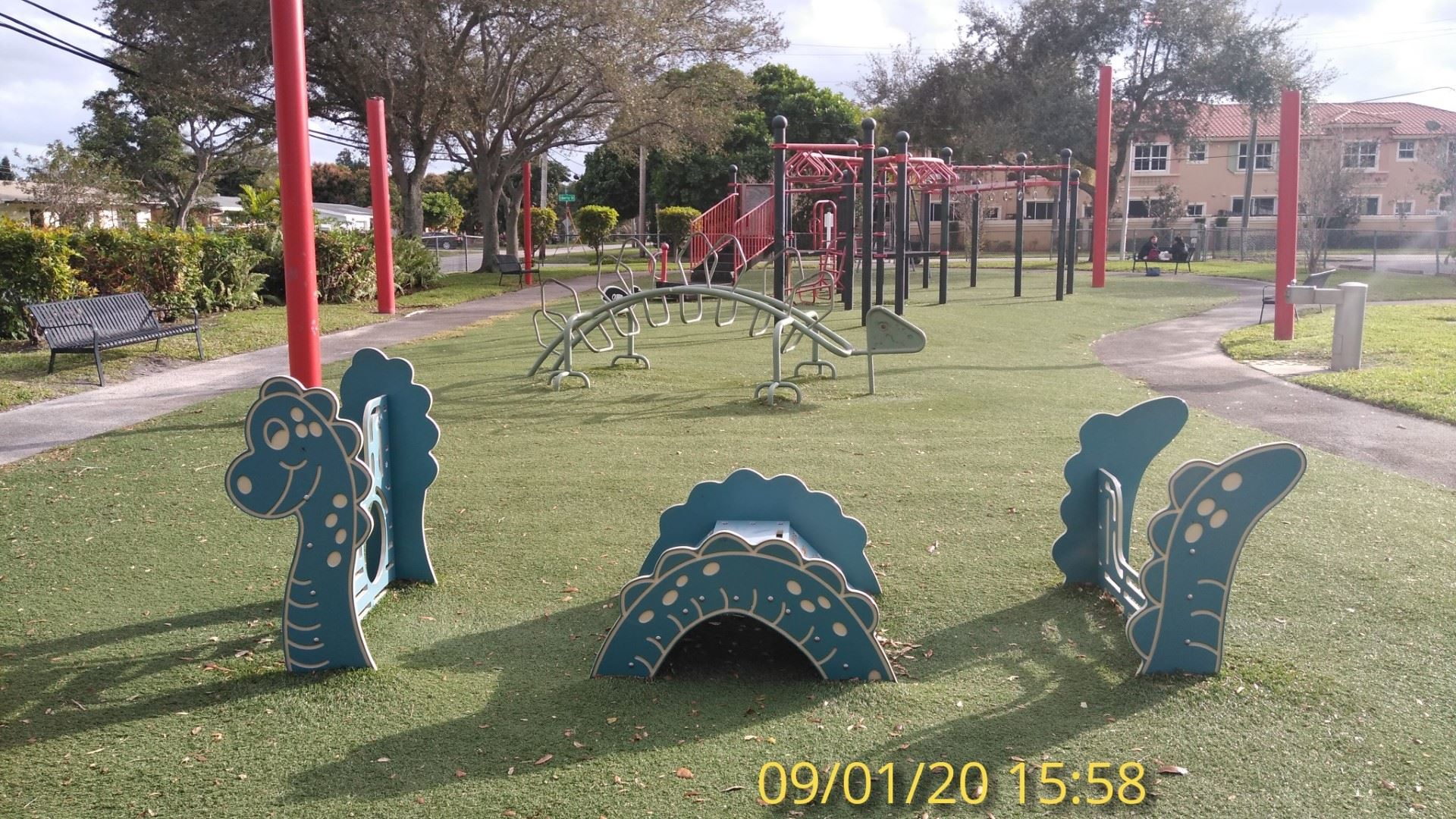 Playground looking S 1/9/20