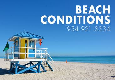Beach Conditions Hot Line