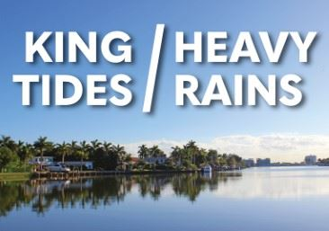 King Tides and Heavy Rain