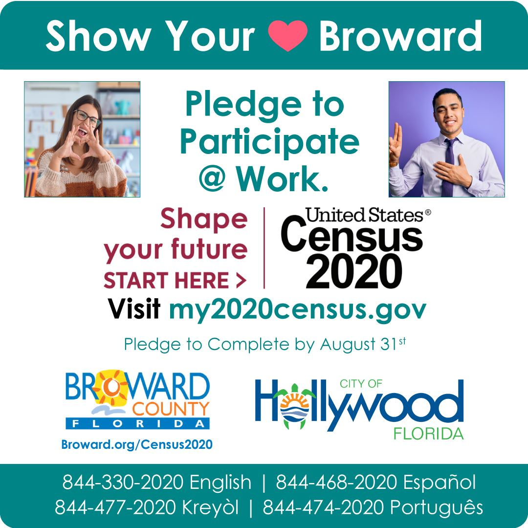 Broward Census - Show Your Love For Broward