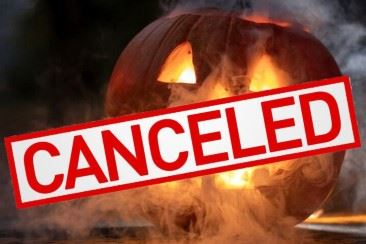 Halloween Events Canceled