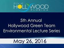 2016 Green Team Environmental Lecture Series
