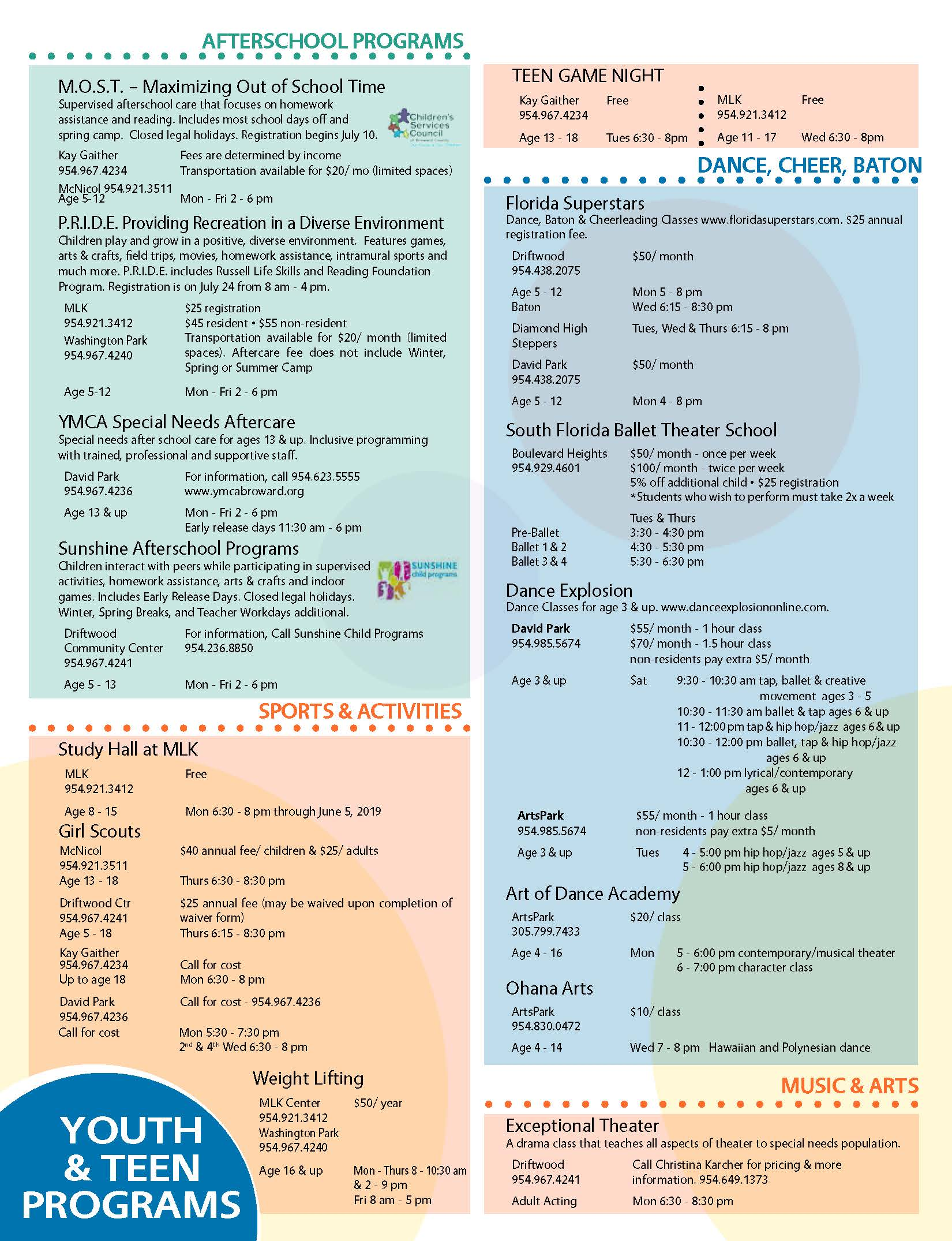 Teen and Youth Programs May through July 2019_Page_1