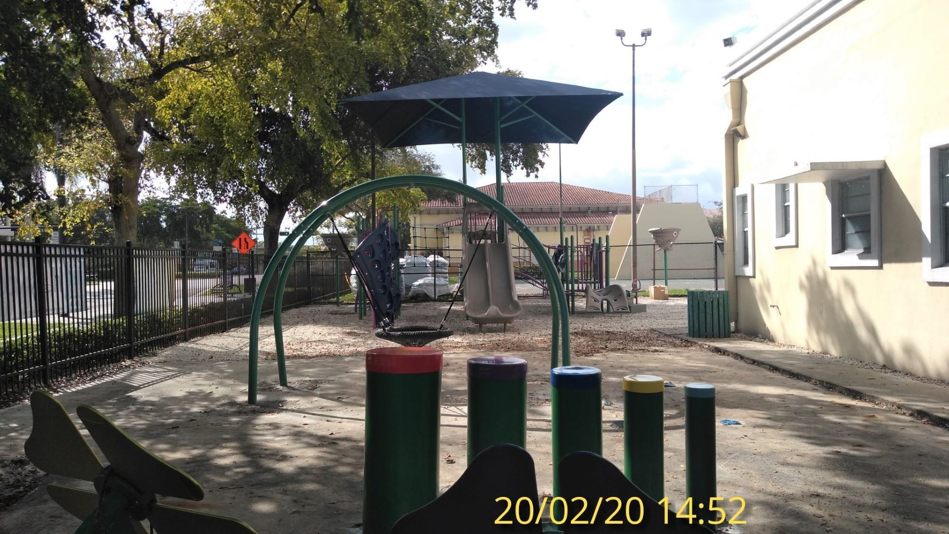 Playground looking W 2/20/20