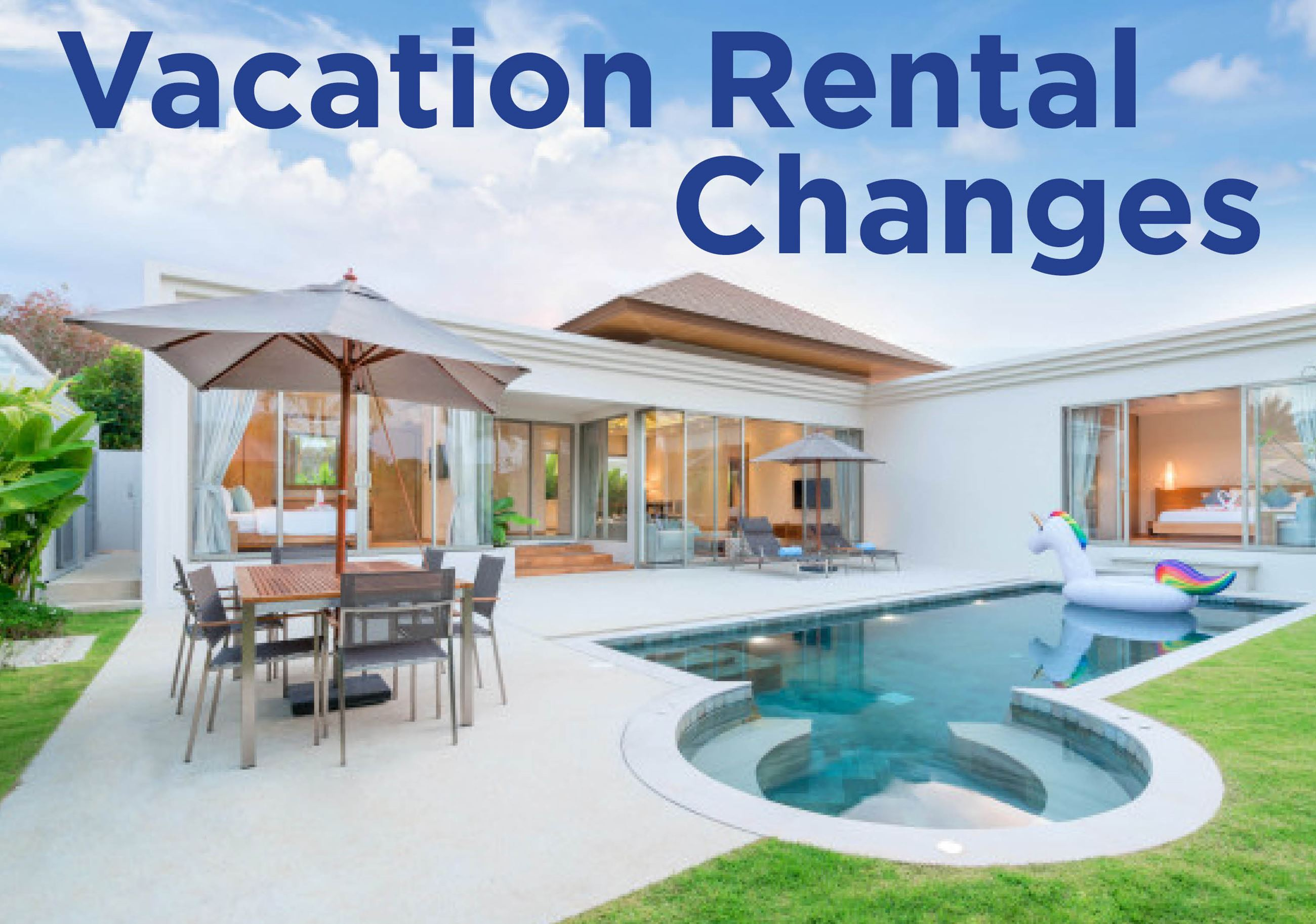 Vacation Rental Changes