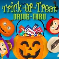 trick or treat drive thru icon